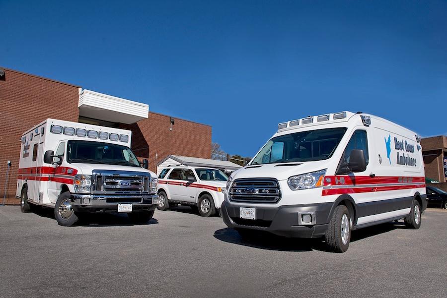 Vehicles | East Coast Ambulance Maryland & Delaware