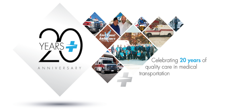 east coast ambulance 20 year anniversary